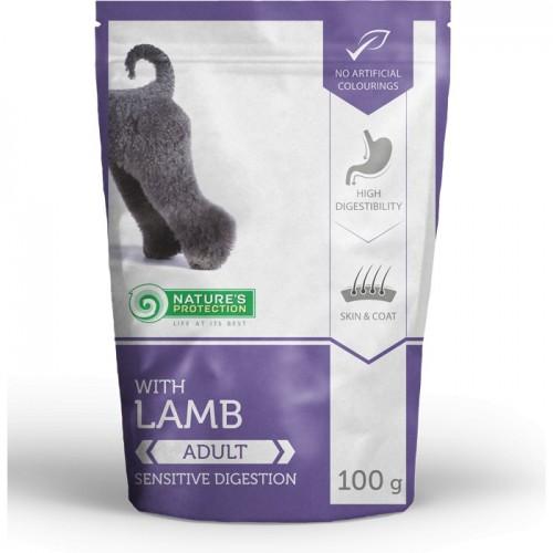 NP Adult Dog Lamb 100g sasz.