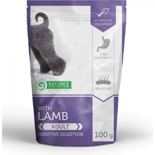 NP Adult Dog Lamb 100g sasz.