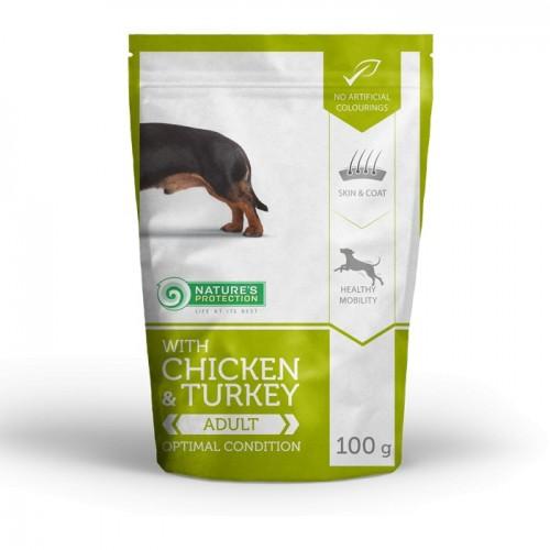 NP Mini Adult Chicken & Turkey Small Dog 100g sasz.