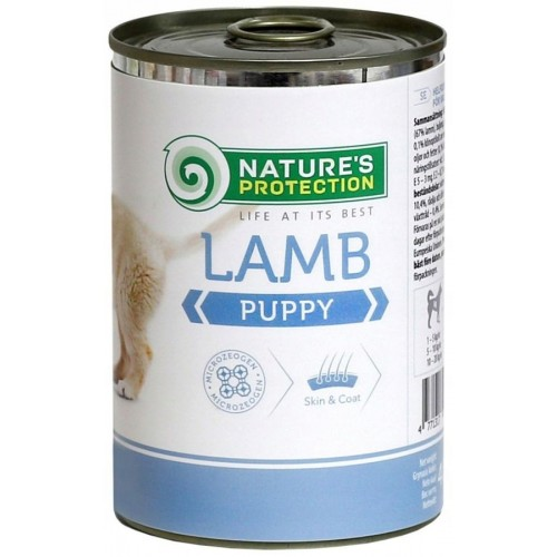 Nature`s Protection Puppy Lamb 400g (jagnięcina)
