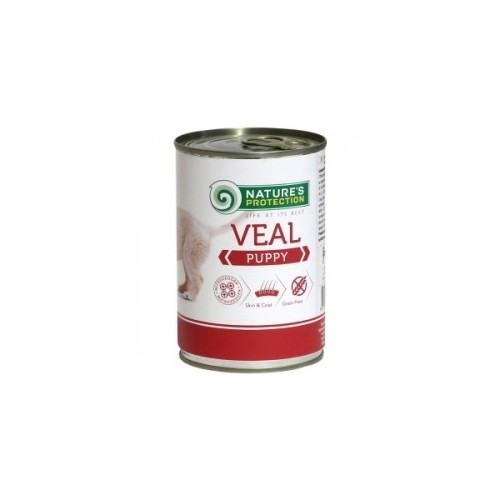 Nature`s Protection Puppy Veal 400g (cielęcina)