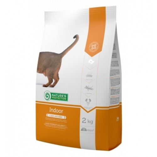 Nature's Protection Indoor Dla kotów żyjących w domu 400g/2kg/7kg