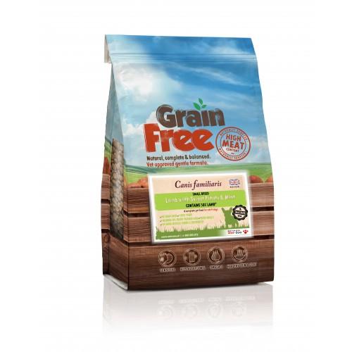 Grain Free - Jagnięcina z batatami i miętą dla małych psów 2kg/6kg