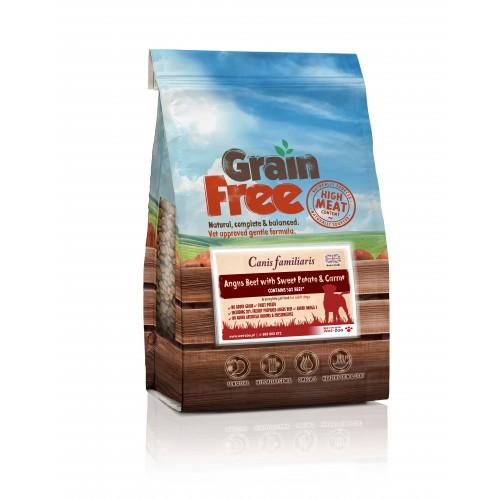 Grain Free Wołowina z batatami i marchewką 12kg