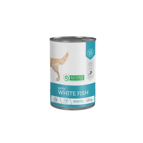 Natures Protection Adult Dog Sensitive- Biała ryba 400g