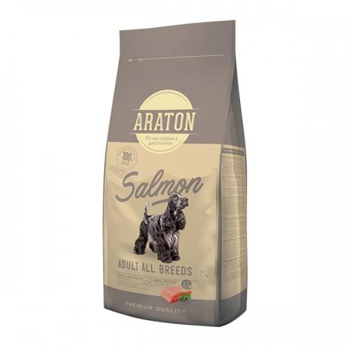 ARATON Dog Adult Salmon & Rice Dla dorosłych psów 15kg