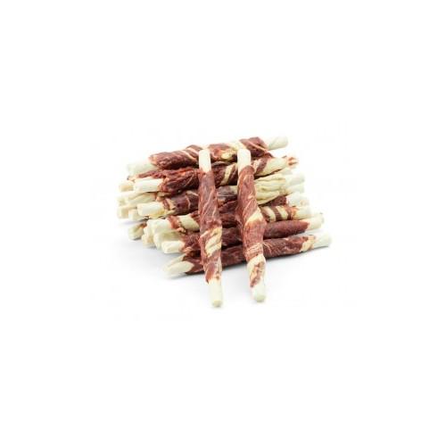 Pałeczki wołowe z jagnięciną i dorszem 500g