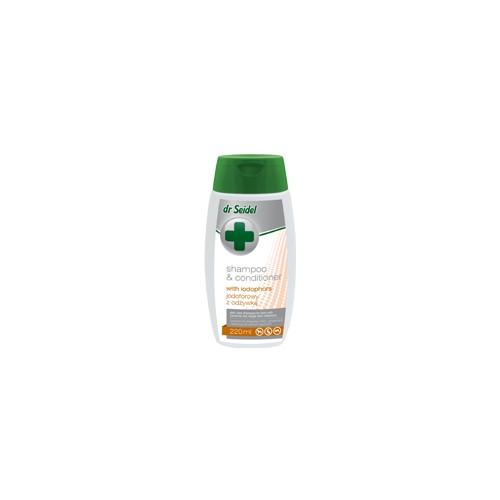 Dr Seidel szampon jodoforowy z odżywką 220 ml