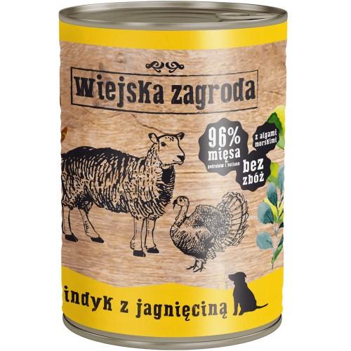 Wiejska Zagroda- Indyk z Jagnięciną 400g