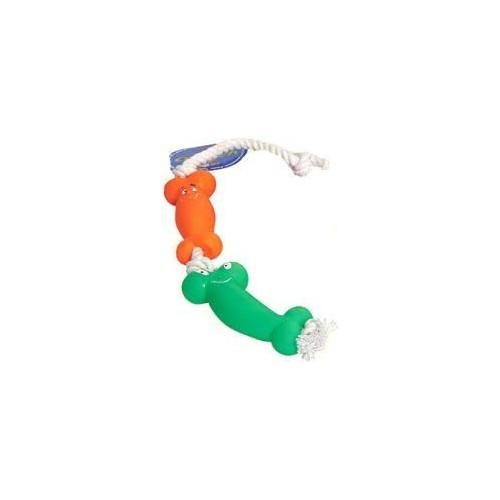 Kość ze sznurem bawełnianym 50 cm