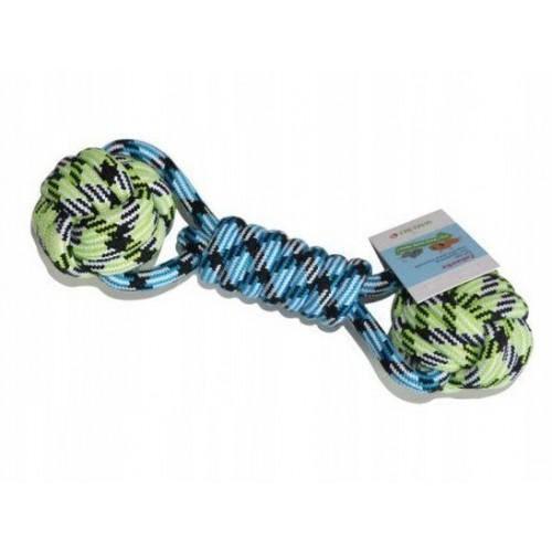 Zabawka dla psa- Hantel ze sznura bawełnianego