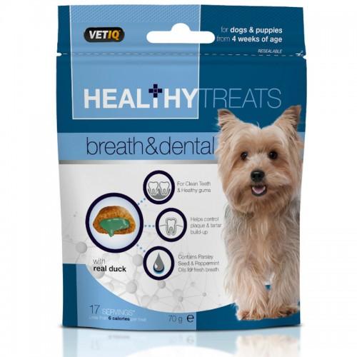 VetiQ- Przysmaki dla psów oddech i zęby 70g