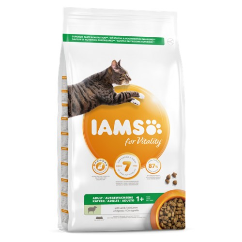 IAMS for Vitality Adult z jagnięciną