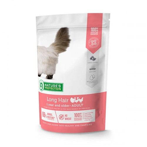 Nature's Protection Long Hair Poultry 400g