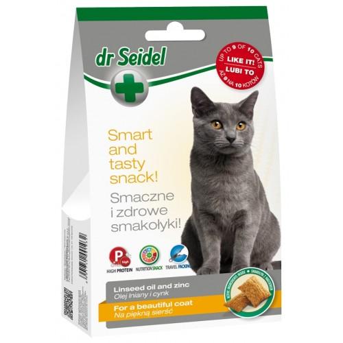 DR SEIDEL - smakołyki dla kotów na piękną sierść 50g
