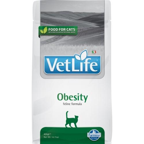 Vet Life Natural Diet Cat Obesity 400 Gr