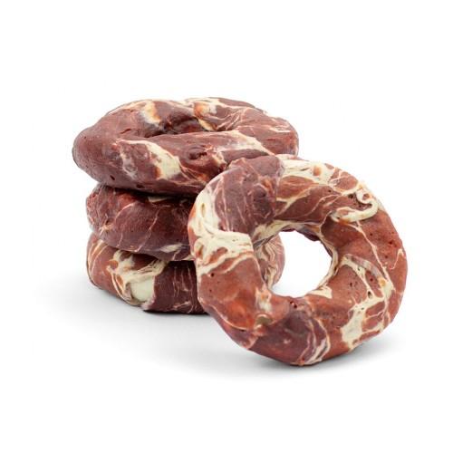 Krążki wołowe z jagnięciną i dorszem