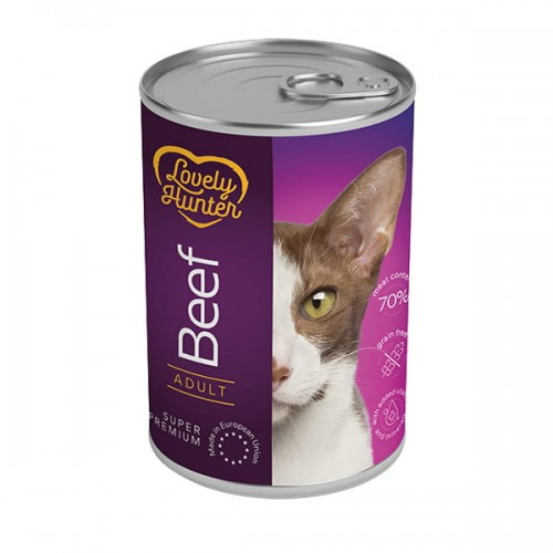 Lovely Hunter Adult Cat Beef 400g