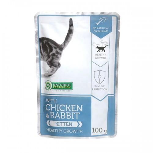 Nature's Protection Kitten Chicken & Rabbit 100g