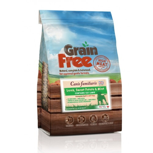 Grain Free Lamb, Sweet Potato and Mint