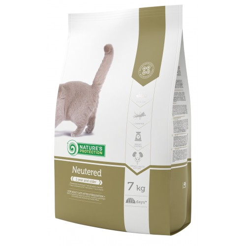 Nature's Protection Neutered -sterylizowany 400g/2kg/7kg