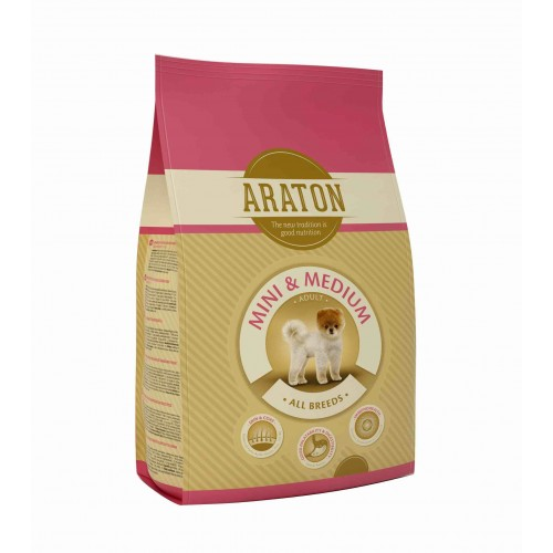 ARATON Dog adult mini medium