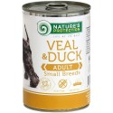 Nature's Protection Veal & Duck Adult Small Breed 400g (cielęcina, kaczka)
