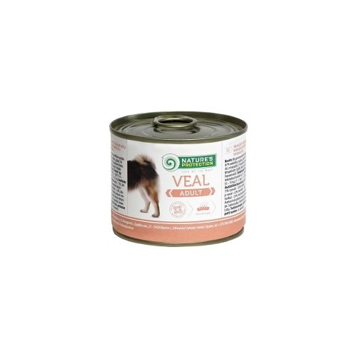 Nature`s Protection Adult Veal 200g (cielęcina)