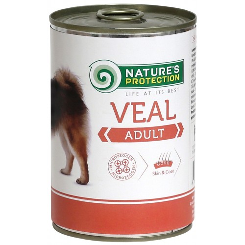 Nature`s Protection Adult Veal 400g (cielęcina)