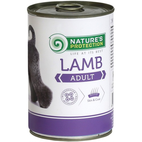 Nature`s Protection Adult Lamb 400g (jagnięcina)