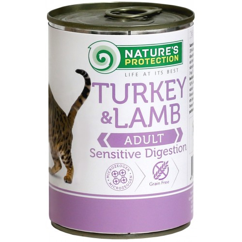 Nature's Protection Sensitive Turkey & Lamb 400g