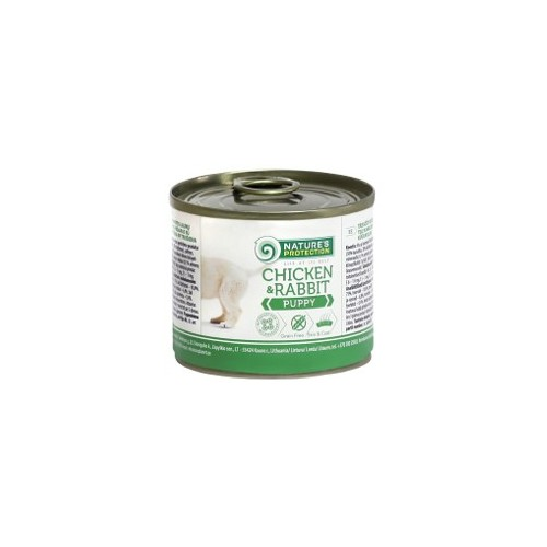 Nature's Protection Puppy chicken & rabit 200g (kurczak, królik)