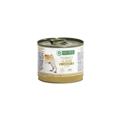 Nature's Protection Turkeym & Lamb light 200g
