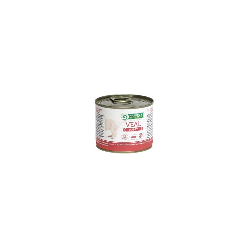 Nature's Protection Veal Puppy 200g